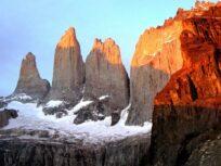 Torres del Paine anaranjadas