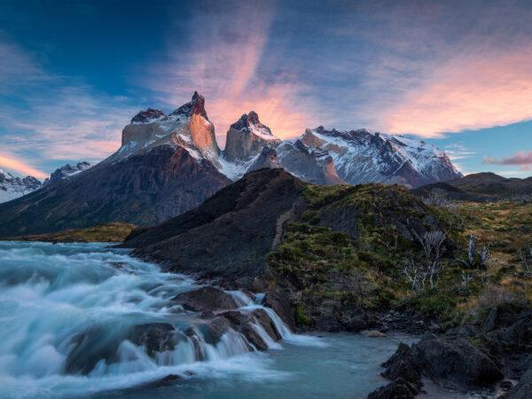 Salto Grande en el Parque Nacional Torres del Paine