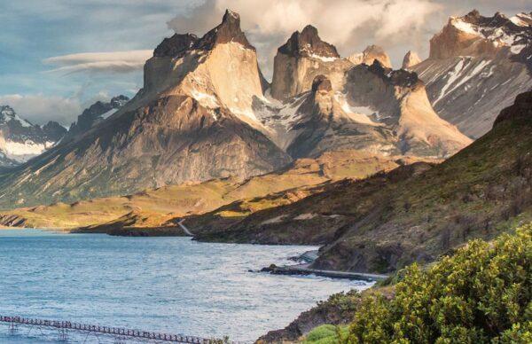 Montañas Los Cuernos en Torres del Paine