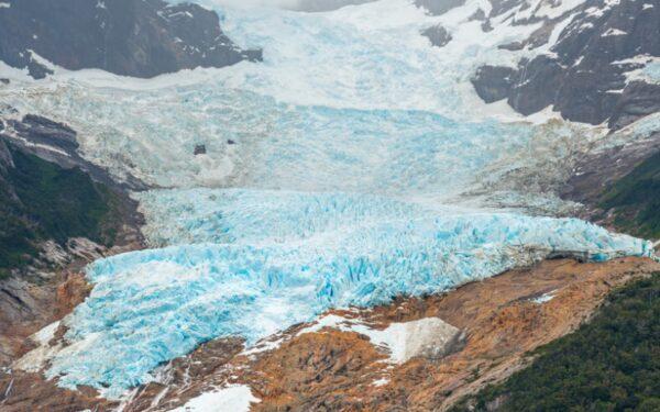 Glaciares colgante Balmaceda