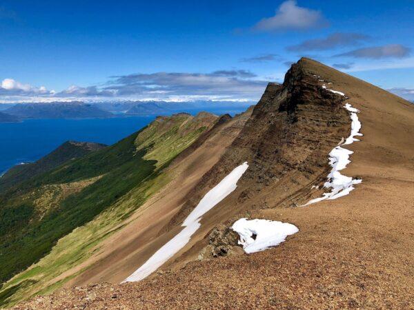 Vista desde la cumbre del Monte Tarn