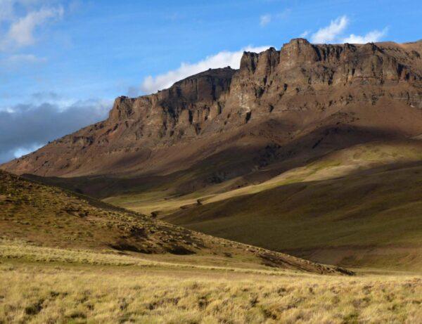 Pampa en la Sierra Baguales