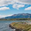 Vista de la costanera de Puerto Natales