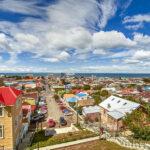 Vista panorámica de Punta Arenas