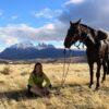 Cabalgata con vista a las Torres del Paine