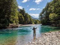 Pesca con mosca en la Patagonia