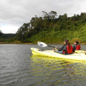 1/2 Día de Kayak en Laguna La Poza